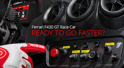 Ferrari F430 GT Race Car Ready To Go Faster when you stay with Vdara Las Vegas