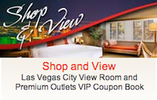 Present this voucher at the Information Center of Las Vegas Premium Outlets North to receive your complimentary VIP coupon book.
