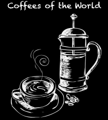 Coffees of the World at 3940 Coffee & Tea in Delano Las Vegas