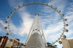 The High Roller observation wheel at The Linq Las Vegas