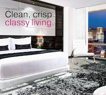 The Ivory Suite - Clean, crisp classy living at Palms Las Vegas