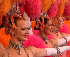 Showgirls from Jubilee revue at Bally's Las Vegas