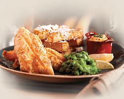 Fish & Chips from Gordon Ramsay Pub & Grill at Caesars Palace Las Vegas