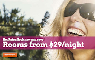 Hot Rates: Book now and save.  Rooms from $29/night with Rio Las Vegas