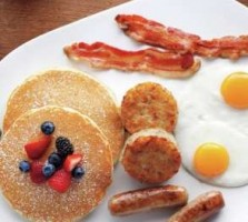 The American Breakfast with in-room dining at Aria Las Vegas
