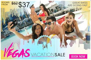 Vegas Vacation Sale with room rates from $37 with The Linq Las Vegas