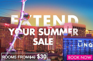 Extend your Summer Sale / Rooms from $30 - Book Now with Flamingo Las Vegas