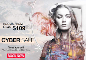 Rooms from $109. Caesars Palace Las Vegas Cyber Sale - Treat Yourself You've Been Good All Year - Book Now