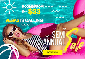 Rooms from $33 - Vegas is Calling / Semi Annual Sale - Book Now with Flamingo Las Vegas