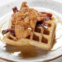 Chicken & Waffles at Della's Kitchen in Delano Las Vegas