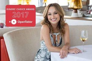 Diners' Choice Award 2017 Open Table - GIADA Restaurant at The Cromwell Las Vegas