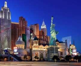 The Skyline of New York-New York Las Vegas