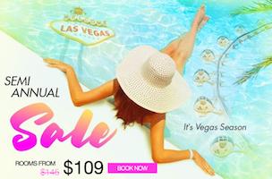 Semi-Annual Sale with Caesars Palace Las Vegas