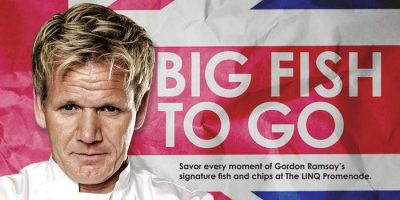 Big Fish To Go - Gordon Ramsay's Fish & Chips at the Promenade at The Linq Las Vegas