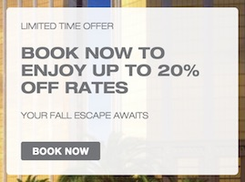 Limited Time Offer - Book Now to Enjoy Up to 20% off Rates - Your Fall Escape Awaits at Delano Las Vegas