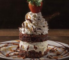 Chocolate Chip Brownie Sundae from Toby's Keith's I Love This Bar & Grill at Harrah's Las Vegas