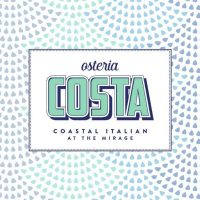 Osteria Costa Italian restaurant is due to open early 2018 at Mirage Las Vegas