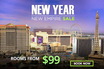 New Year New Empire Sale - Rooms from $99 with The Cromwell Las Vegas