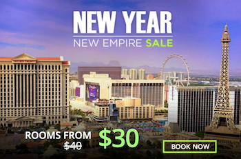 New Year New Empire Sale with Flamingo Las Vegas
