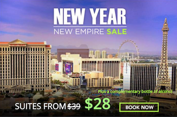 New Year New Empire Sale with Rio Las Vegas