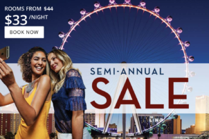 Harrah's Las Vegas Semi-Annual Sale