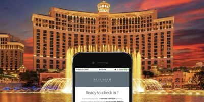 Mobile Check-In with Bellagio Las Vegas