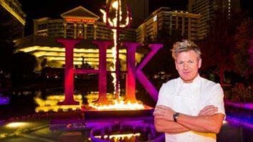 Chef Gordon Ramsay at Hell's Kitchen at Caesars Palace Las Vegas