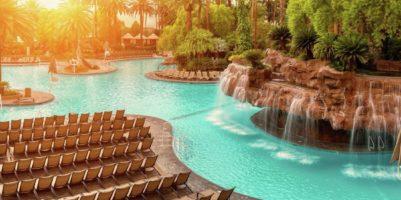 The pool at Mirage Las Vegas