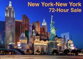 72-Hour Sale with New York-New York Las Vegas