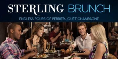 Sterling Brunch Endless pours of Perrier-Jouët Champagne at Bally's Las Vegas