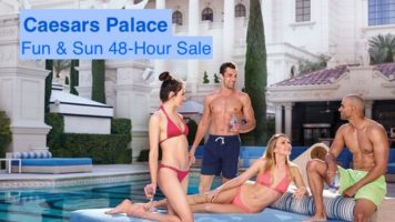Fun & Sun 48-Hour Sale with Caesars Palace Las Vegas