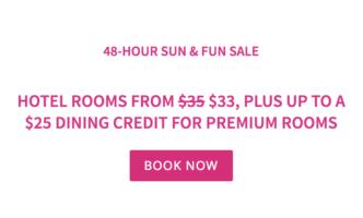 48-Hour Sun & Fun Sale with Flamingo Las Vegas