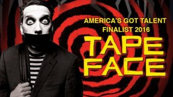 America's Got Talent Finalist 2016 - Tape Face at Harrah's Las Vegas