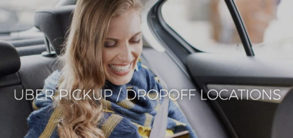 Uber Pick Up and Drop Off Locations at The Linq Las Vegas