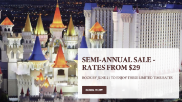 Semi-Annual Sale with Excalibur Las Vegas