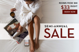 Semi-Annual Sale with Harrah's Las Vegas