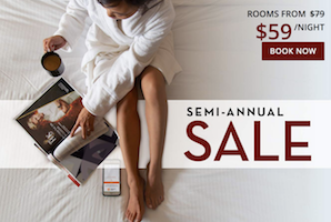 Semi-Annual Sale with Paris Las Vegas