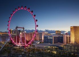 The High Roller Observation Wheel in Las Vegas