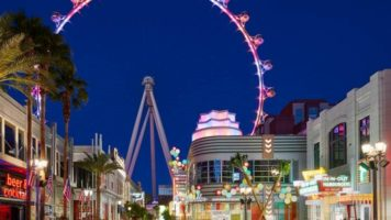 The High Roller Observation Wheel in Las Vegas