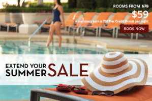 Extend your Summer Sale with Paris Las Vegas