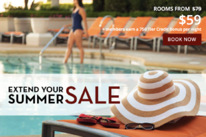 Extend your Summer Sale with Planet Hollywood Las Vegas