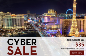Cyber Sale with rates from $35 with The Linq Las Vegas