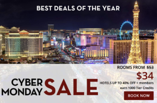 Bally's Las Vegas Cyber Monday Sale