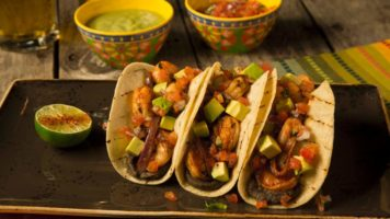 Tacos from Tequila Taqueria at Bally's Las Vegas