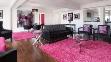 The beautiful Forever Fab Suite at Flamingo Las Vegas