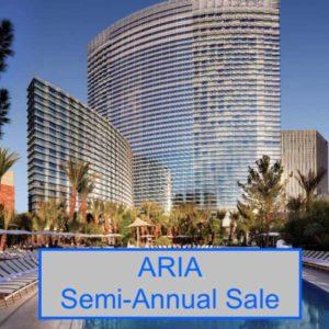 Aria Las Vegas Semi-Annual Sale
