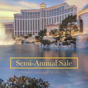 Semi-Annual Sale with Bellagio Las Vegas