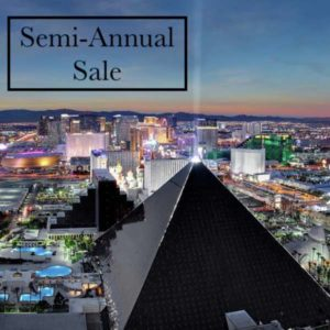 Semi-Annual Sale with Luxor Las Vegas