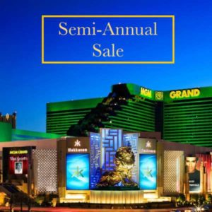Semi-Annual Sale with MGM Grand Las Vegas