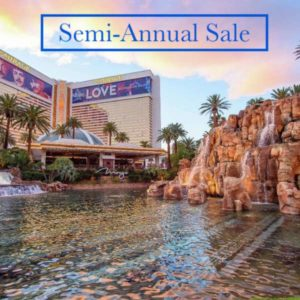 Semi-Annual Sale with Mirage Las Vegas